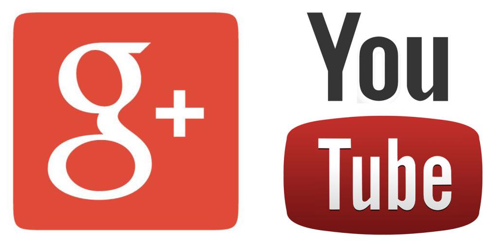 g+ youtube
