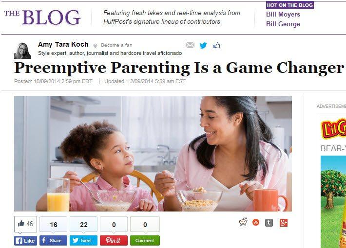 preemptive parenting is a gamechanger