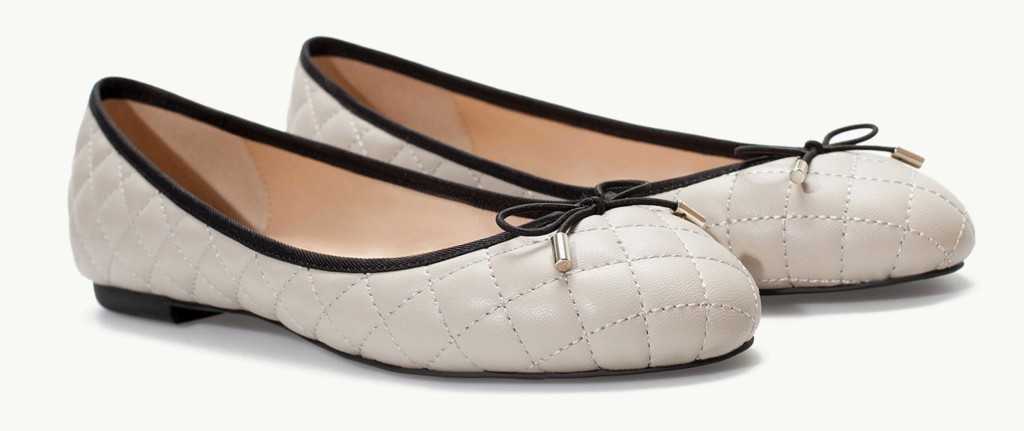 quilted flats