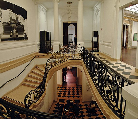 neue galerie staircase ATK