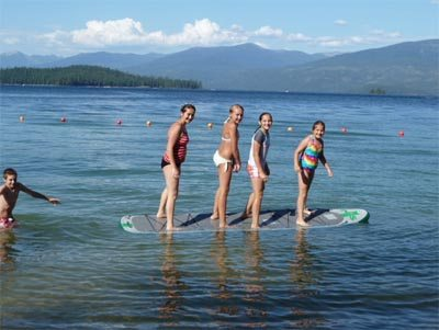 family paddleboard atk